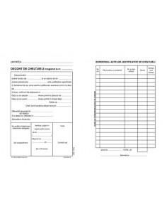 P038 Decont de cheltuieli inregistrat la nr.