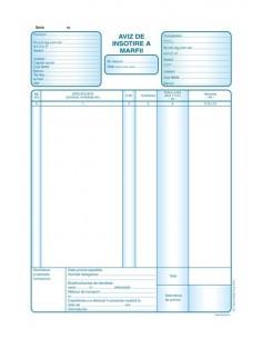 P024 Aviz de insotire a marfii (format A4, 50 seturi autocopiative, 3x exemplare)