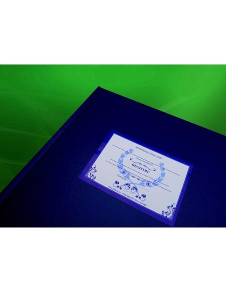 SS44 Registru pentru procese verbale sedinte cu parintii -  coperta imitatie piele
