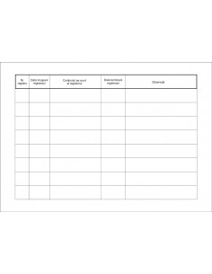 SS52 Registrul registrelor