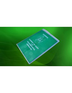C157 Coperta carnet elev – plastic transparent