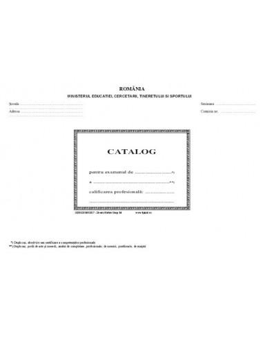 C055 Catalog cu rezultatele la examenul de absolvire a scolii profesionale, de ucenici etc - cop. duplex