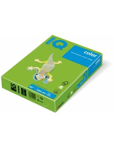 Hartie A4 IQ color verde crud 80 g/m2...