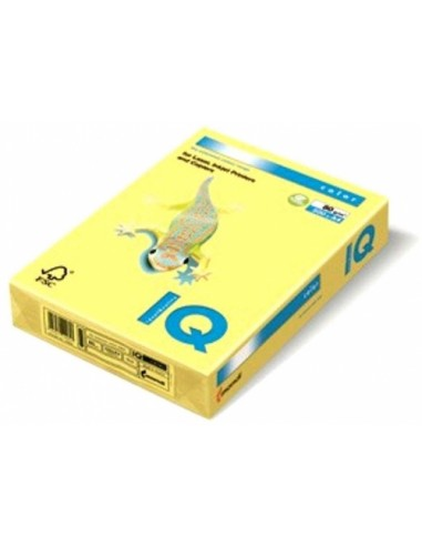 Hartie A3 IQ color galben 80 g/m2 500...