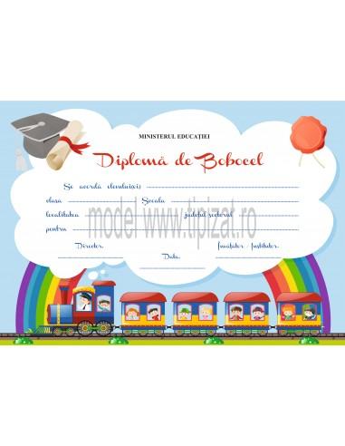 D003 Diploma de bobocel