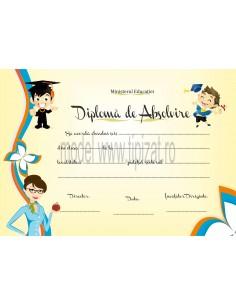 D004b Diploma de absolvire