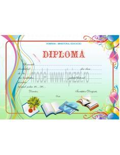 D005 Diploma scolara
