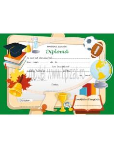 D008 Diploma scolara