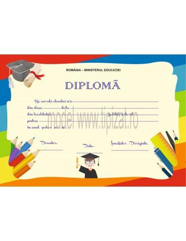 D011 Diploma scolara