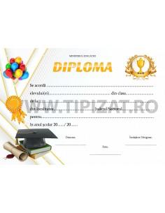 D007c  Diploma scolara