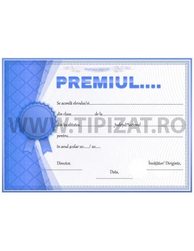 D006d Diploma de acordarea premiului