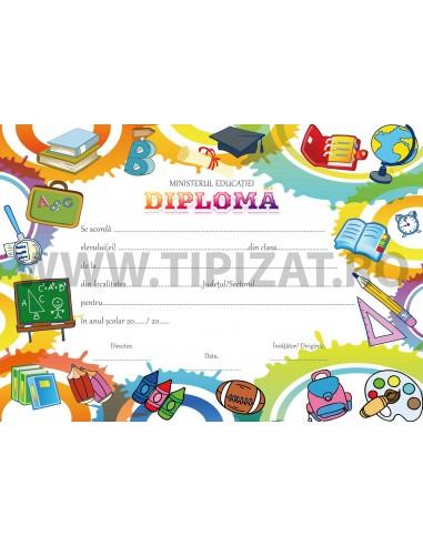 D007g Diploma scolara