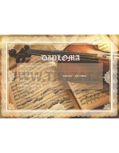 D020 Diploma muzica