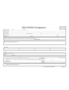 C122 Fisa contract de împrumut