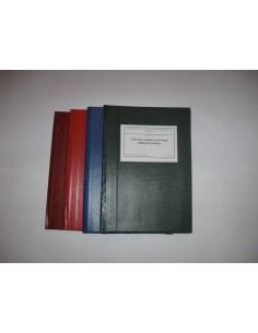 C140 Caiet de evidenta a bibliotecii stiintifice - coperta imitatie piele