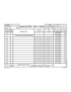 P018 Registru de casa