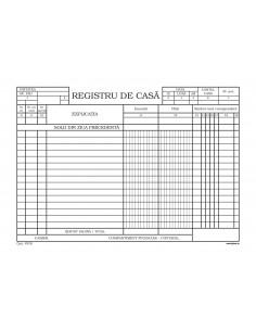 P018b Registru de casa - hartie autocopiativa