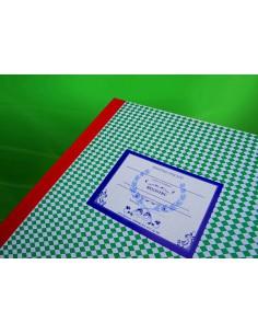 C006a Registru - cerere de inscriere in clasa pregatitoare, clasa I - coperta carton gros invelita cu hartie pentru arhiva
