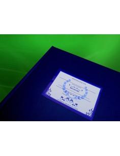 C025 Registru matricol pentru licee, grupuri scolare, sam, etc format A3 fara materii - coperta imitatie piele