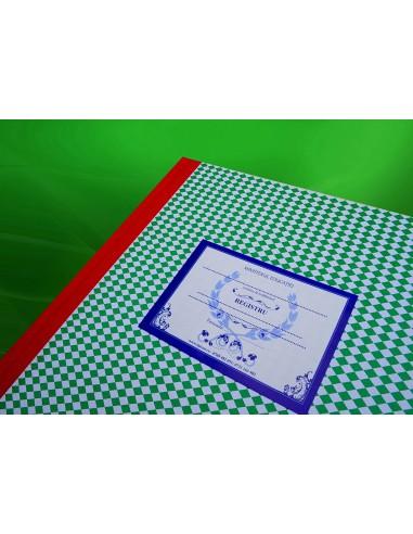 C024a Registru matricol pentru licee, grupuri scolare, sam, etc format A3 cu materile principale - coperta arhiva