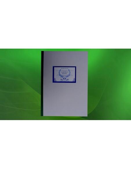SS01 Registru de evidenta a serviciului pe scoala – cadre didactice - coperta duplex
