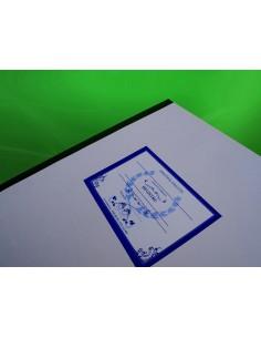 C104 Registru inventar (carti, brosuri, note muzicale) - coperta duplex