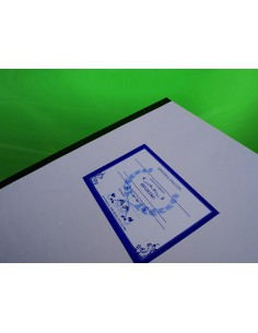 C110 Registru inventar grafica, fotografii,harti, atlase etc. - coperta duplex